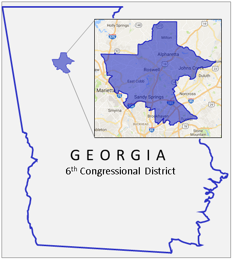 Image result for georgia sixth district