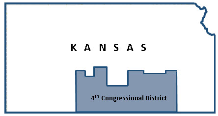 Kansas 4th District map