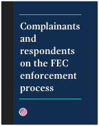 Enforcement process brochure cover