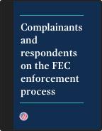 Enforcement process brochure cover