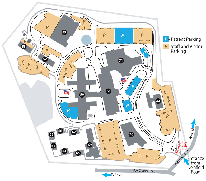 H.J. Heinz Facility Map