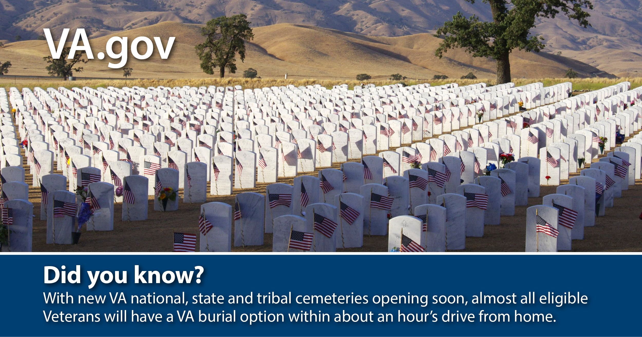 VA offers dignified burial options