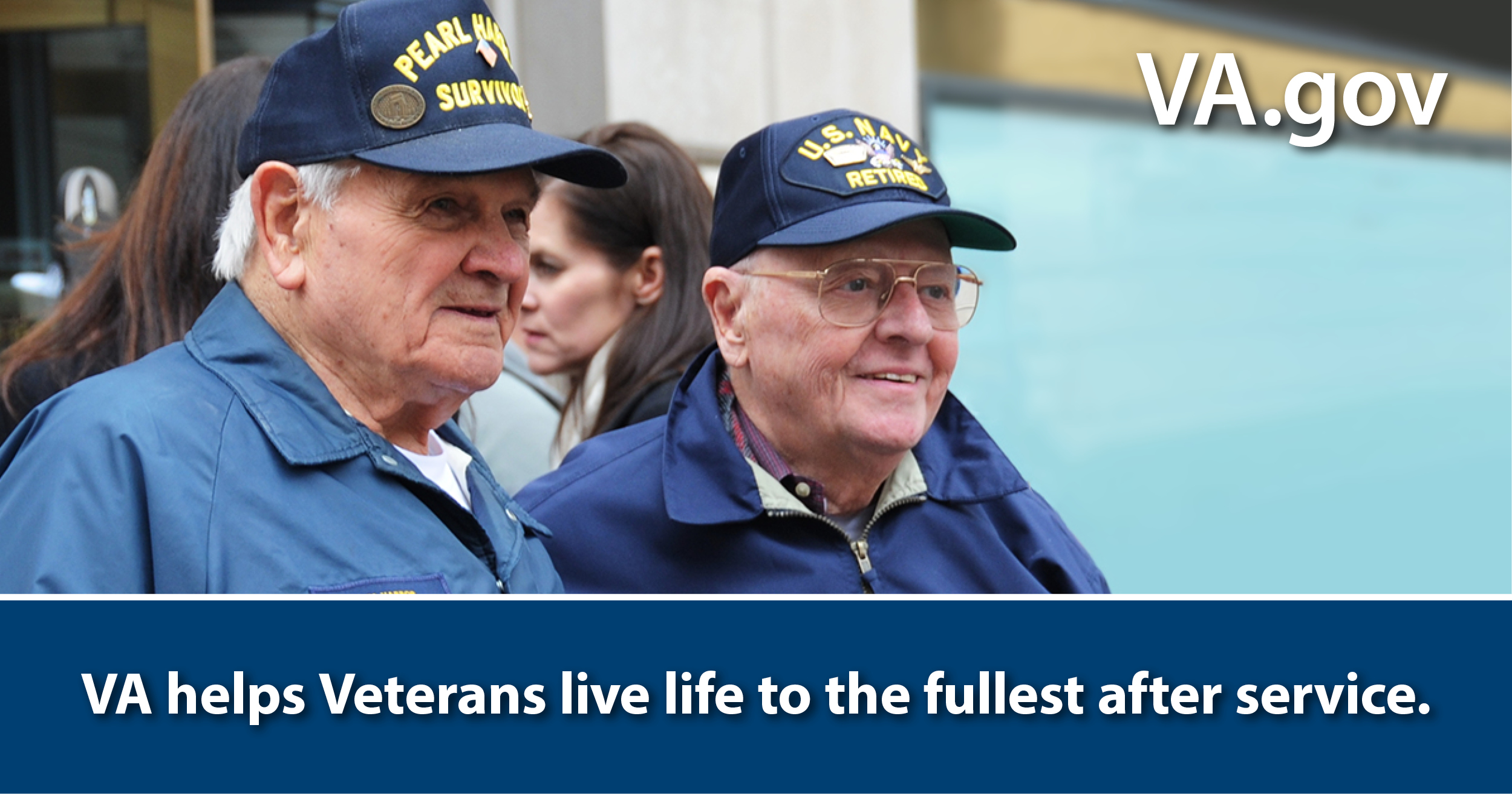 VA helps Veterans live life after service to the fullest.