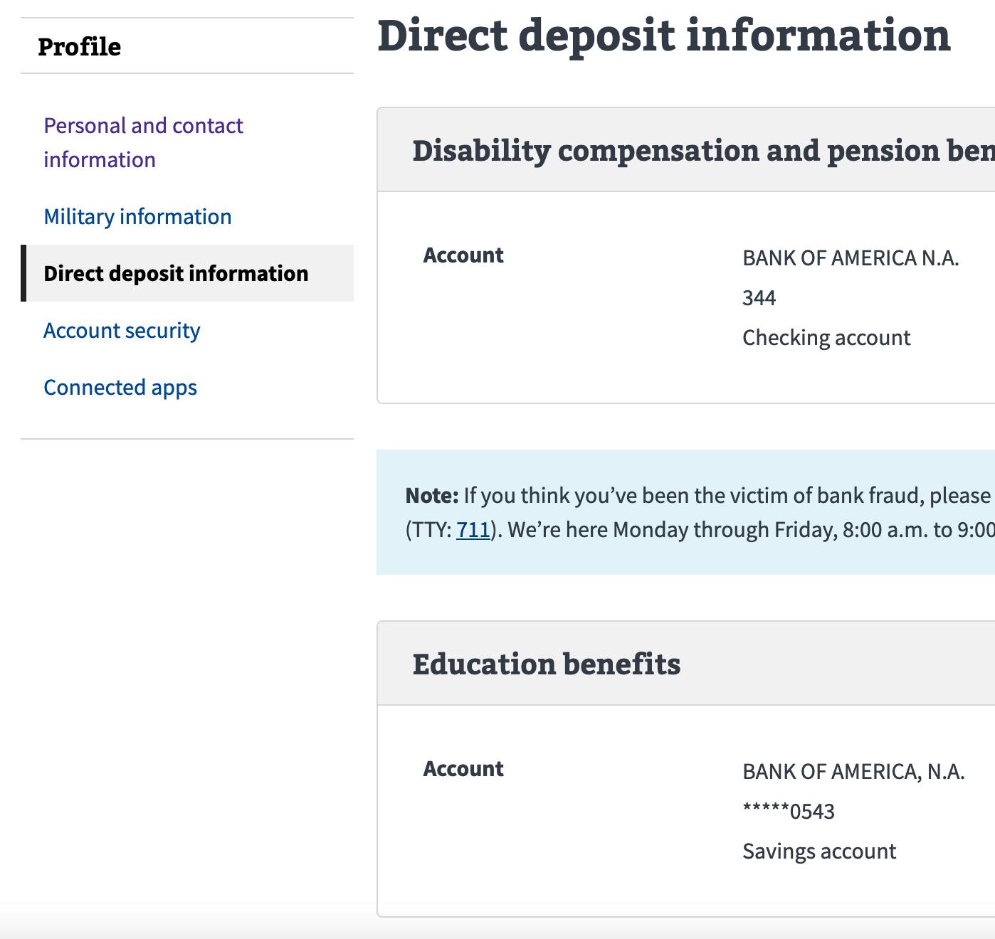 direct deposit new