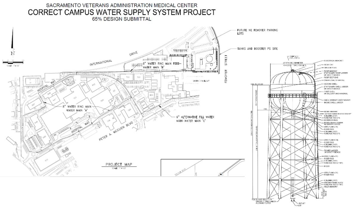 Mather Water Tower Project – In Construction