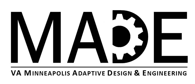 MADE with gears, VA Minneapolis Adaptive Design and Engineering