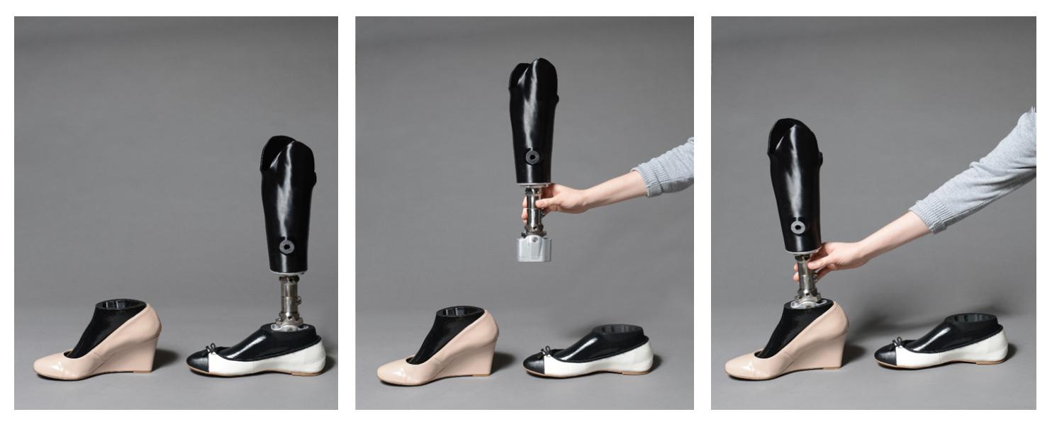 MVAHCS MADE Prosthesis improved footwear options
