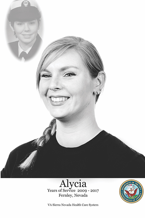 Alycia, Navy Veteran