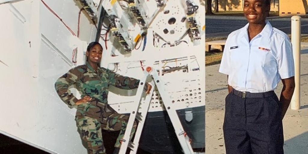 U.S. Air Force Veteran Marshana Harris (Marz)