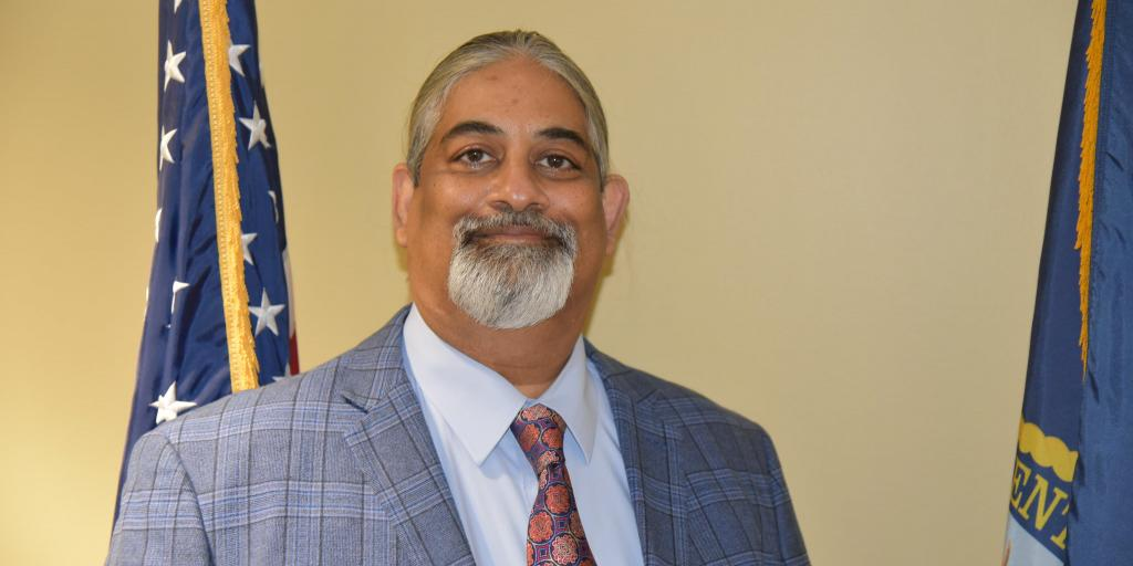 Dr. Ashfaq Ahsanuddin (Ash) is the Chief of Staff position here at the Charles George VA Medical Center.