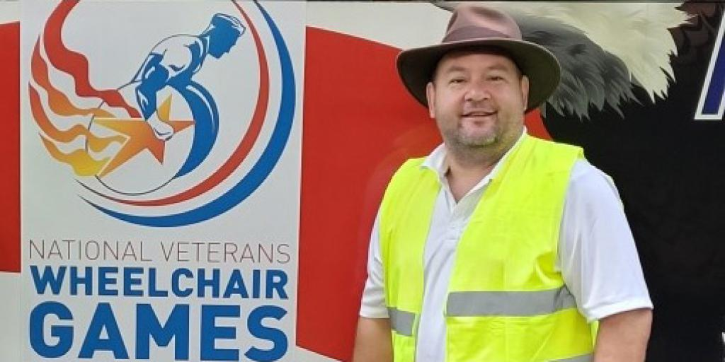 VA Employee Honored to Support Wheelchair Games