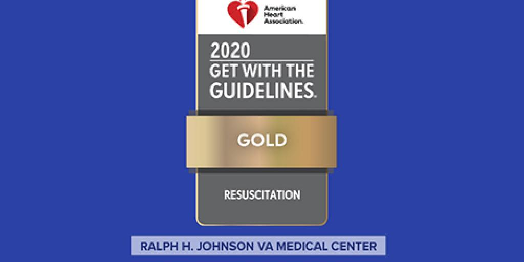 Charleston VAMC received the Get With The Guidelines®-Resuscitation Gold Award.