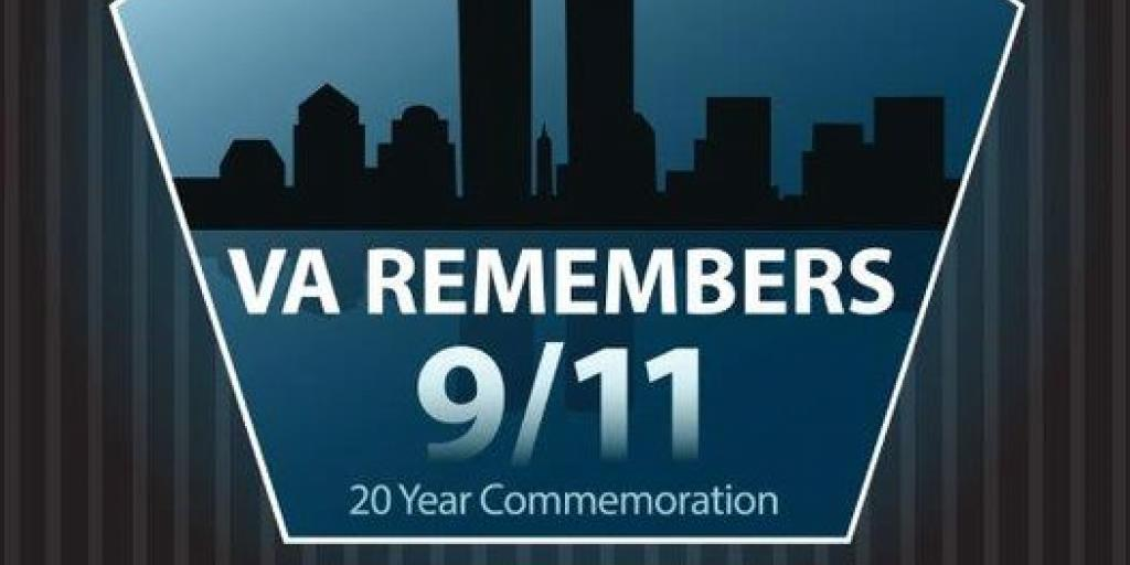 Graphic of Twin Towers 9/11 VA Remembers
