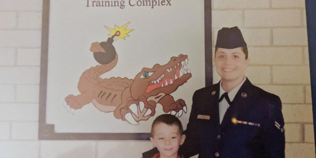 Heather Shimko with son Mason