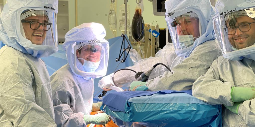 MAKO surgery at VA Houston