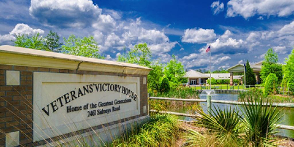 The Veterans Victory House in Walterboro, SC.