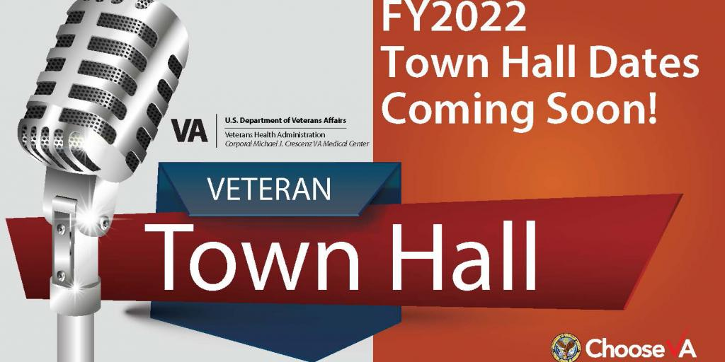 FY2022 Town Hall Dates Coming Soon!