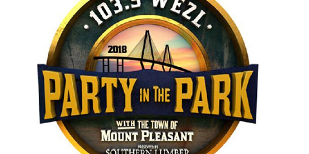 Local radio station 103.5 WEZL hosts Party in the Park free concert series.
