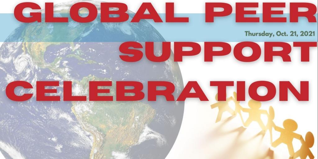Global Peer Support Celebration is Oct. 21. (VA graphic/Vance Janes)