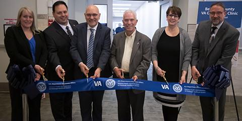 Ribbon cutting ceremony for relocated Belmont County VA Outpatient Clinic