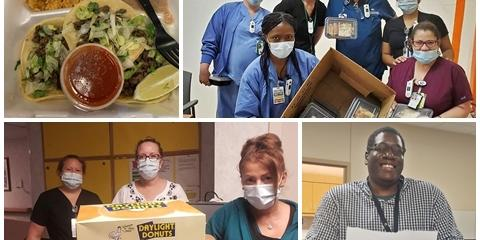 A Eastern Colorado Health Care System has received more than 15,000 donated meals to date from local eateries.
