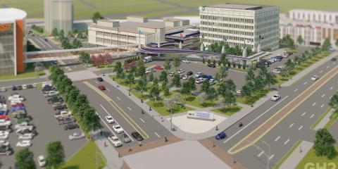 Tulsa Hospital Rendering