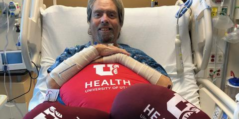 Army Veteran and triple transplant recipient Keith Baker
