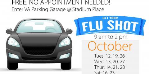 2021 Syracuse VA Drive Thru Flu Shot Clinic graphic