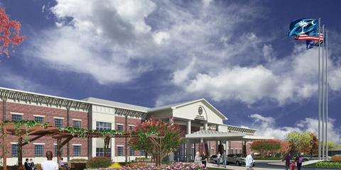Clinic rendering
