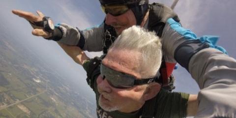 Veteran skydiving
