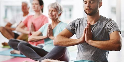 Free yoga class for Veterans at the Ralph H. Johnson VAMC every Wednesday from 5:30 to 6:30 p.m.