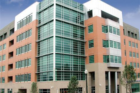 Exterior of the Washington Clinic
