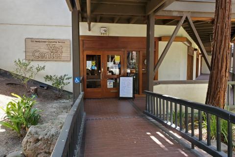 Front Door of the Concord Vet Center