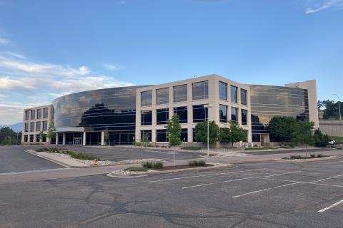 Exterior view of the Colorado Springs Vet Center building