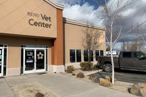 Reno Vet Center main entrance