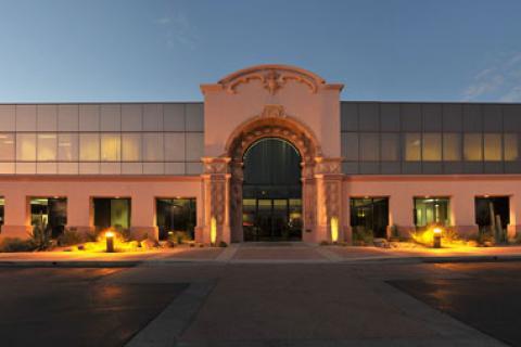 Entrance to the Tucson Vet Center.