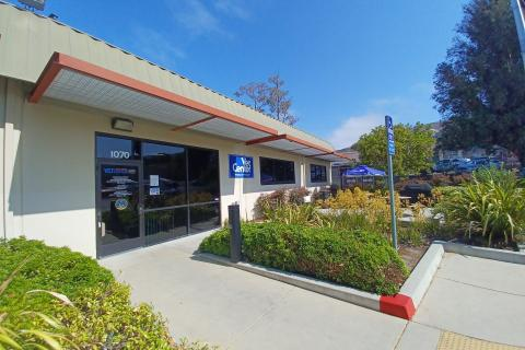 Exterior of the San Luis Obispo Vet Center