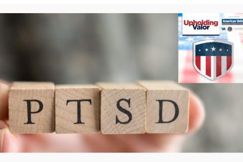 Screen grab of Upholding Valor on PTSD