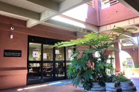 Vet Center Entrance