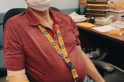 Bill Van Aken, Prosthetics at VA Sierra Nevada Health Care System