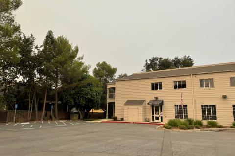 Citrus Heights Vet Center entry from parking lot.