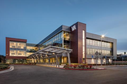 Outer view of San Jose VA Clinic/Vet Center