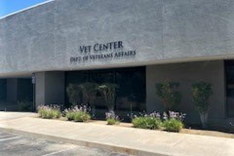 Fresno Vet Center outside Angle