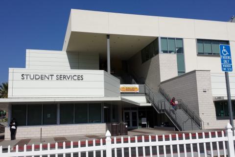 Building of Veteran Resource Center location