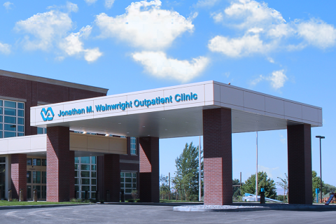 Picture of main outpatient clinic on the Walla Walla VA main campus