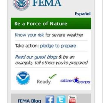 Cover image for National Severe Weather Preparedness Week  Collection