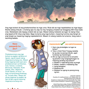 Cover Image for Disaster Fact Sheets for Kids- Ready Kids (Tagalog)  album