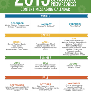 Cover image for Seasonal Preparedness Social Media Toolkits  Collection
