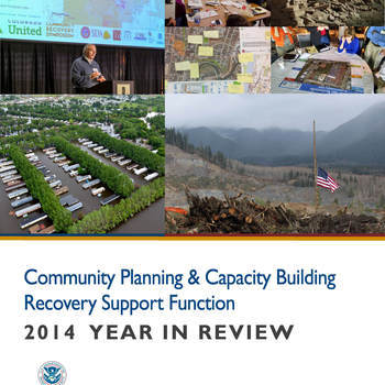 Cover image for Community Planning & Capacity Building - Recovery Support Function archives Collection