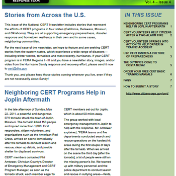Cover Image for CERT Newsletter album